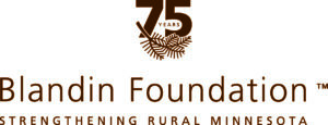 Blandin75th_VertLogo