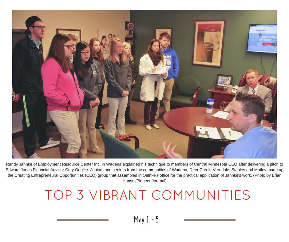 TOP 3 VIBRANT COMMUNITIES (12)
