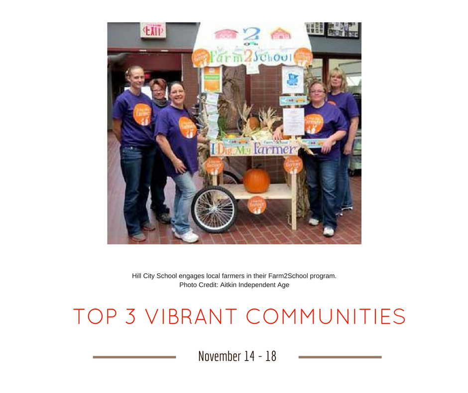 TOP 3 VIBRANT COMMUNITIES (6)