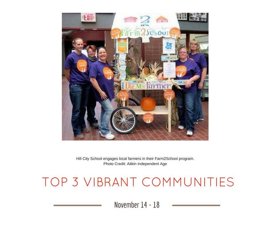TOP 3 VIBRANT COMMUNITIES (6)