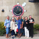 Circle of Healing members on tour of Vermilion Indian Boarding School.