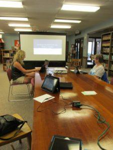 Baudette Public Library Tablet Training Class