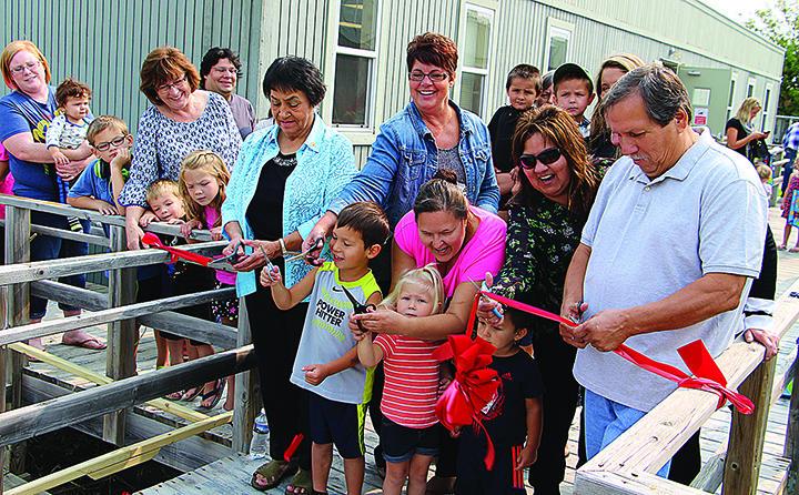Grand Opening of Maamigin Achigaazo.  Photo credit: Detroit Lakes Online